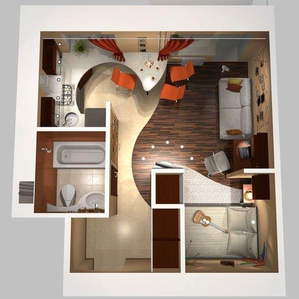 Дизайн своими руками своей квартиры 251