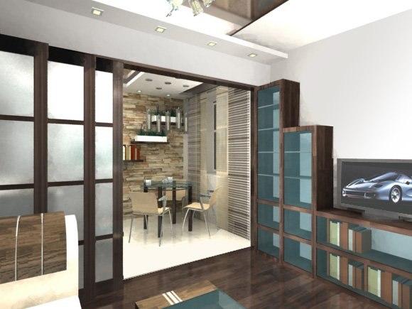 Дизайн однокомнатных квартир с детской