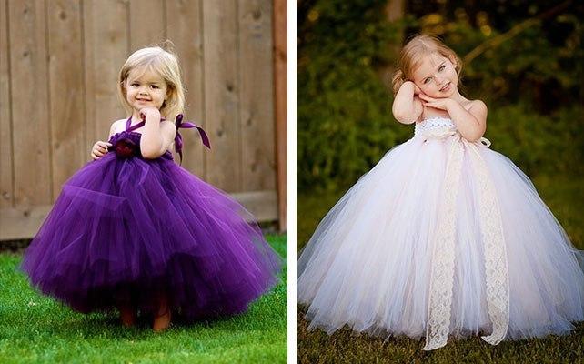 Платье своими руками детское пышное
