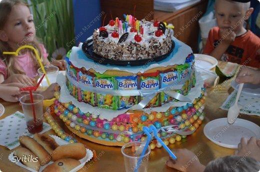 детские торты на день рождения 3 года в садик фото