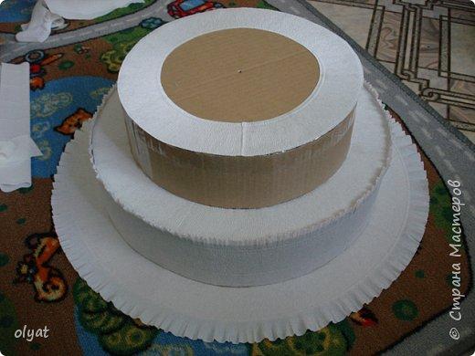 Как сделать торт в детский сад из угощений в детский сад