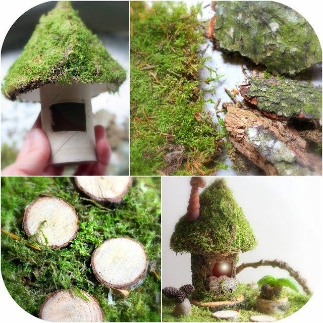 Как сделать домик из природных материалов для детей