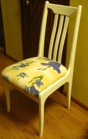 Как сделать красивый стул из старого стула