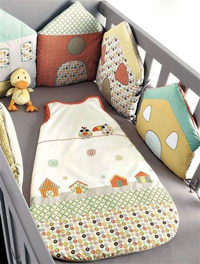 Бортики-домики для детской кроватки своими руками